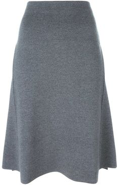 Stella McCartney double-face midi skirt