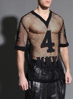 MC Dolly Fashion, Fashion D, Unisex Fashion, See Thru Clothes, Men Closet, Street Style Edgy, Men's Wardrobe, Festival Outfits, Couture