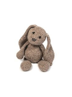 Part of our Edwards Menagerie collection of amigurumi crochet toys designed by Kerry Lord, this can be bought as an electronic PDF for just £15 for over 30 animal patterns.YOU WILL NEED:Standard size (approx 18cm tall) 100g DK Yarn and a 3mm hookSmall size (approx 12cm tall) 50g fine and a 1.75mm hookLarge size (approx 24cm tall) 300g aran and a 5mm hookGiant size (approx 34cm tall) 600g chunky and a 8mm hookYou can download the pattern in a universal A4 format from a link which will appear…