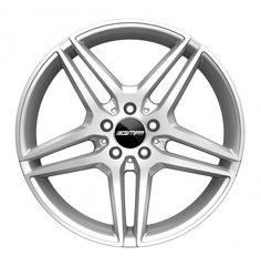 Mythos Silver Alloy wheel / Cerchio in lega leggera Mythos Silver Front