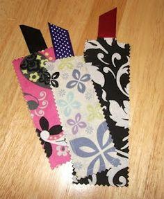 Scrap Material Bookmarks