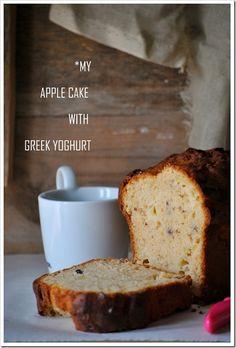 Μα...γυρεύοντας με την Αλεξάνδρα: Κέικ μήλου με γιαούρτι