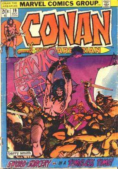 Conan the Barbarian - Barry Windsor Smith art & cover Marvel Comic Books, Comic Books Art, Comic Book Artists, Comic Artist, Conan The Barbarian Comic, Conan Comics, Dc Comics, Windsor Smith, Sword And Sorcery