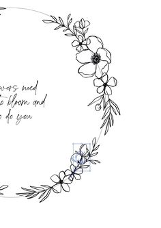 Creating a floral wreath in illustrator. Music by tattoo simple Floral wreath illustration by Skyla Design Doodle Art Drawing, Art Drawings, Drawing Ideas, Embroidery Patterns Free, Floral Embroidery, Tattoo Minimaliste, Illustration Blume, Design Blog, Design Design