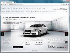 Das neue Markenportal von Audi ist seit heute Vormittag live. Dieter Kopitzki und Kollegen haben in IN auf den Knopf gedrückt. Für mich hebt Audi das Automobilmarketing damit auf einen neuen Level. Aber was ist mit dem Konfigurator passiert?