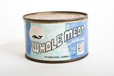 Canned Whale Meat.  Stop this now!!!!!