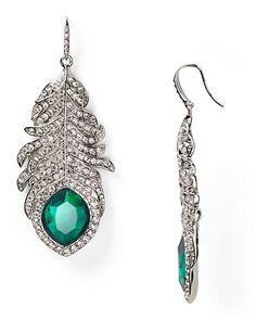ABS by Allen Schwartz Feather Earrings - All Jewelry - Jewelry - Jewelry & Accessories - Bloomingdale's#
