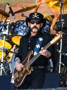 Lemmy Kilmister of Motorhead performs on stage on Day 2 of British Summer Time Festival at Hyde Park on July 4, 2014 in London, United Kingdom