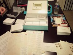 Elisha's experience designing, ordering & mailing Save the Dates! {The Anchored Elm: Wedding Wednesday}