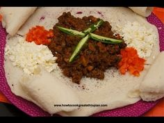 Ethiopian liver and berbere gubet video recipe in Amharic with English subtitles www.howtocookgreatethiopian.com