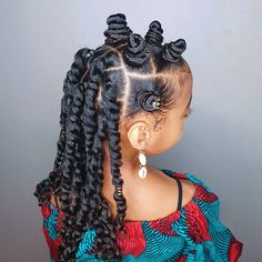 Some new 30 min hairstyle inspiration for the mommys who can not cornrow! I got ya! 💪🏾 Janelle looks sooooo extremely cute with this style! Cute Little Girl Hairstyles, Baby Girl Hairstyles, Natural Hairstyles For Kids, Kids Braided Hairstyles, Natural Hair Styles, Toddler Hairstyles, Kid Braid Styles, Kid Styles, Braids For Kids