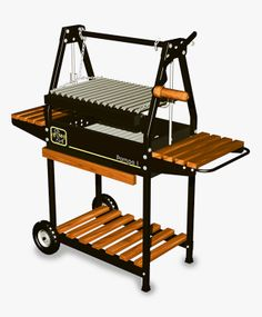 Hobby Grill. #Asadores robustos de carbón tipo argentino de gran durabilidad. Fire Pit Grill, Bbq Grill, Grilling, Natural Gas Outdoor Fireplace, Argentine Grill, Brick Bbq, Ikea Design, Stove Fireplace, Grill Design