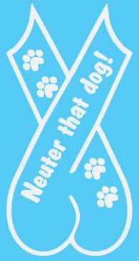 Car Window Decals - by Big Pile of Dog Shirts