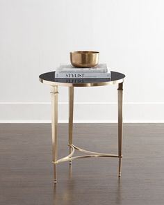Brock Side Table by Global Views at Horchow.