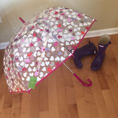 Kate Spade♠️Bubble Hearts Umbrella New with tags! Retails $60, price is firm:) kate spade Accessories Umbrellas