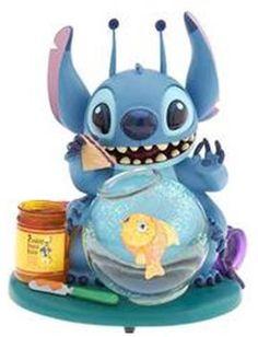 Disney Lilo and Stitch Fishbowl Snowglobe