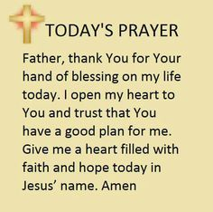 A daily prayer Prayer Verses, Prayer Quotes, Bible Verses Quotes, Today's Prayer, Prayer For Today, Daily Prayer, Christian Pictures, Special Prayers, Well Said Quotes