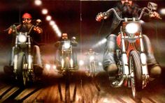 ***DAVID MANN*** EASYRIDERS***FOGGY RIDE***HARLEY CHOPPERS