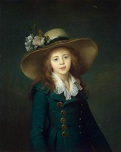 Portrait of Elisaveta Alexandrovna Demidova, nee Stroganova, 1792 - Louise Elisabeth Vigee Le Brun Lisa Gherardini, Jean Antoine Watteau, Riding Habit, Monalisa, Hermitage Museum, 18th Century Fashion, 17th Century, Elisabeth, Marie Antoinette