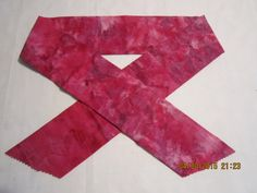 """Extra Wide 3"""" Reusable Non-Toxic Cool Wrap / Neck Cooler  - Tones and Marbled - Dark PInk Tones by ShawnasSpecialties on Etsy"""