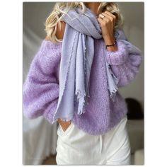 "🌸Mes Petites Curiosités🌸 (@lili_songe_) posted on Instagram: ""𝙻𝚊𝚟𝚎𝚗𝚍𝚎𝚛 𝚍𝚛𝚎𝚊𝚖𝚒𝚗𝚐 𝚘𝚏 𝚊 𝚏𝚛𝚎𝚜𝚑 𝚖𝚘𝚛𝚗𝚒𝚗𝚐 .. #mohair Elia dreamy lavender #lilisonge Étole #falierosarti #tonsurton #falloutfit #fallcollection…"" • Sep 17, 2021 at 2:50pm UTC Wooly Bully, Fall Collections, Fall Outfits, Lavender, Lily, Fresh, Instagram, Sweaters, Fashion"