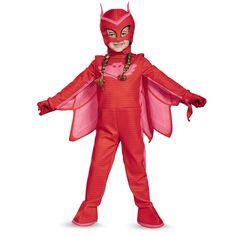 Halloween Kids' PJ Masks Owlette Deluxe Costume - S Girl's, Multi-Colored. 3t Halloween Costumes, Toddler Costumes, Halloween Kostüm, Halloween Season, Group Costumes, Character Costumes, Girl Costumes, Pj Mask Disfraz, Fantasia Pj Masks