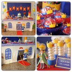 """Festa infantil com tema """"O pequeno principe"""""""