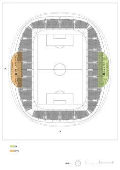 Football Stadium Arena Borisov / OFIS Architects