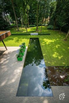 Precious Tips for Outdoor Gardens In general, almost half of the houses in the world… Small Backyard Pools, Backyard Pool Designs, Small Pools, Swimming Pools Backyard, Swimming Pool Designs, Backyard Landscaping, Lap Pools, Landscaping Design, Indoor Pools