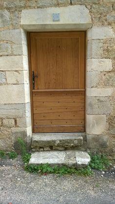Porte Du0027entrée 1 Vantail Avec Soubassement à Lames Biseautées Horizontales  Etu2026