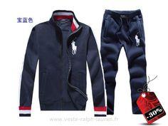 officiel polo hommes survetement nouveau lutter contre collier pas cher  occasionnel norme bleu rouge Polo Sport 4567092d260