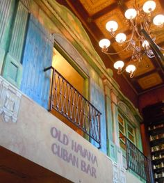 The Irish Pub Company took on board the many sides to Cuban Art to create the Old Havana Cuban Bar to capture the artists dedicated to taking risks with their art and the Native Art recognized by its childlike freshness
