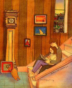 Bir kitabı ikiniz okuyun, kitap masrafınız azalırsa mutlu olursunuz.
