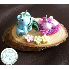 Coming soon to Fairyhill Crafts from Lil'h Crafts these utterly darling unicorns - I have a few myself!! Too cute to give away!! #unicorns