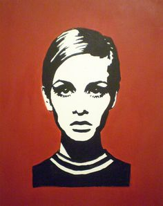 Twiggy - Red Twiggy Painting by Ruth Oosterman