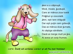 Poezii terapeutice vorbarete – Jucarii Vorbarete School Coloring Pages, Kids Poems, Kids Education, Nursery Rhymes, Jena, Winnie The Pooh, Kids And Parenting, Preschool, Songs