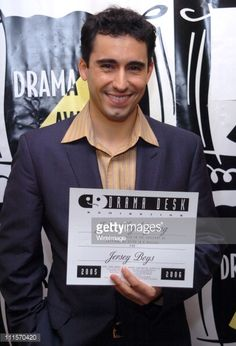 John Lloyd Young of 'Jersey Boys' during 2006 Drama Desk Award Nominations at Arte Cafe in New York City, New York, United States.