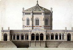 Leo Von Klenze Be freiungs halle - 1840