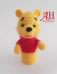 "Finger puppet ""Winnie the POOH"""