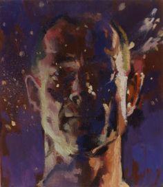 David Cobley self portrait Fragile Hero I oil on linen 14 x 12 in x cm) Private collection Selfies, Faces, David, Portraits, Hero, Oil, Fine Art, Printed, Artist