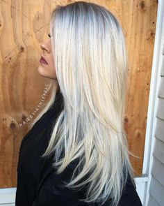 40 Long Hairstyles and Haircuts for Fine Hair Long+Layered+Ash+Blonde+Hair+With+Root+Fade Haircuts For Fine Hair, Easy Hairstyles For Long Hair, Straight Hairstyles, Girl Haircuts, Fine Hair Hairstyles, Toddler Hairstyles, Stylish Hairstyles, Hairstyles Videos, Men's Hairstyle