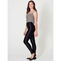 American Apparel The Disco Pant ($85) ❤ liked on Polyvore