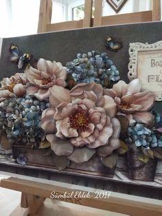 Mural Painting, Mural Art, Texture Art, Texture Painting, Decoupage, Plaster Art, Arts And Crafts, Paper Crafts, Craft Tutorials
