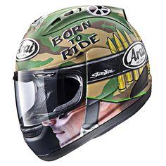 Capacete Arai RX-7 GP Hayden War Capacetes Arai 88674e8cbce