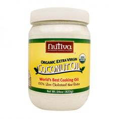 Nutiva: Extra-Virgin Coconut Oil. A lovely bunch of coconuts! http://www.honeycolony.com/product/nutiva-organic-extra-virgin-coconut-oil/