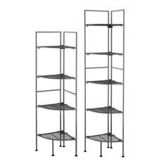 Buy Neu Home 4-Tier Corner Metal Shelf from Bed Bath & Beyond