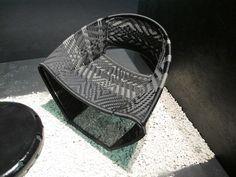Cheikh Diallo's Pape Seydou steel and nylon chair