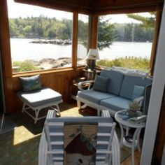 Lone Gull Cottage- Blue Hill Maine Vacation Cottages 207-374-3500
