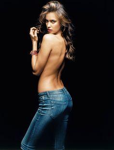 Irina Shayk Replay Jeans