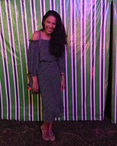 Designer Saloni Lodha wears the Grace dress from our Summer16 collection. Shop it Now > salonilondon.com